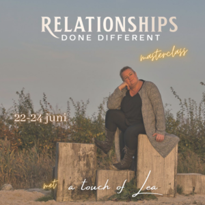 Relationships done different Lea Klinkhamer